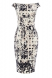 Coast - Coast - MONO PRINT TEEGAN DRESS