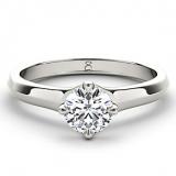 Ernest Jones - The Diamond Story 18ct white gold quarter carat diamond ring