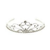 Debenhams - Girl's silver diamante tiara