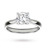 Goldsmiths - Platinum 1.50 Carat Diamond Solitaire Ring