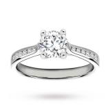 Goldsmiths - Platinum 1.18 Carat Diamond Solitare Ring