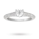 Goldsmiths - Vera Wang Love brilliant cut solitaire diamond engagement ring