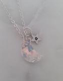 Zoe Hearts - Moon and Stars Necklace