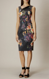 Karen Millen - ORCHID DRESS - MULTICOLOUR