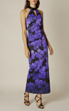 Karen Millen - FLORAL STRETCH MAXI DRESS