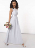 Dorothy Perkins - Showcase Dove Grey Natalie Maxi Dress
