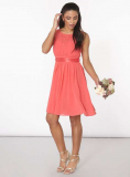 Dorothy Perkins - Showcase Coral 'Beth' Prom Dress