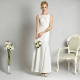 Debenhams - Debut Ivory lace maxi dress
