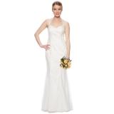 Debenhams - Pearce II Fionda Designer ivory embroidered mesh bridal gown