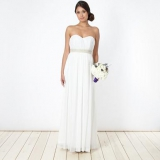 Debenhams - Debut Ivory embellished maxi dress