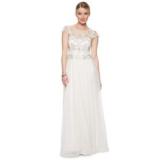 Debenhams - Debut Ivory embellished bridal dress