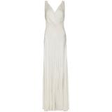 John Lewis - Ghost Gabriella Cross Front Dress , Ivory