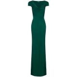 John Lewis - Ghost Sylvia Dress , Emerald Green