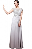 Not On The High Street .com - Chiffon & Lace Bridal Dress by ELLIOT CLAIRE LONDON
