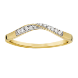 Goldsmiths - Ladies 0.10 total carat diamond eternity ring