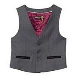 Debenhams - Ted Baker - Boy's grey 'Baker Best' waistcoat