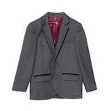 Debenhams - Ted Baker - Boy's grey Baker Best' suit jacket