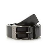 Debenhams - Ted Baker - Boy's black branded buckle belt