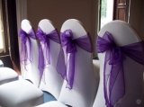 LYCRA WEDDING CHAIR COVERS & SASHES