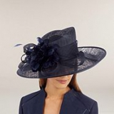 Jacques Vert - Navy Occasion Hat