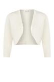 Jacques Vert - Cream Beaded Bolero Knit