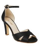 Phase Eight - Ally Satin Block Heel Shoes