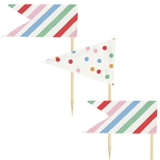 Party Pieces - Toot Sweet Assorted Party Toppers