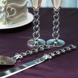 Confetti - SILVER PLATED CAKE SERVING SET