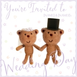 Marks and Spencer - Bride and Groom Bears Invitation