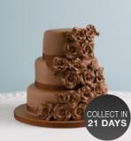 Marks and Spencer - Classic Rose Sponge Wedding Cake