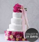 Marks and Spencer - Romantic Pearl Chocolate Wedding Cake