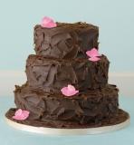 Marks and Spencer - 3 Tier Milk Chocolate Ganache Cake