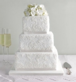 Marks and Spencer - Lace Chocolate Wedding Cake