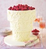 Marks and Spencer - Upside Down White Chocolate Swirl Wedding Cake