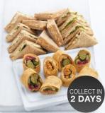 Marks and Spencer - Vegetarian Sandwich & Wrap Platter