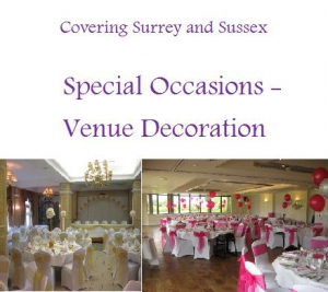Special Occasions Venue Decoration