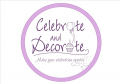 Celebrate and Decorate