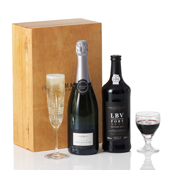 Fortnum and Mason Champagne and Port Box