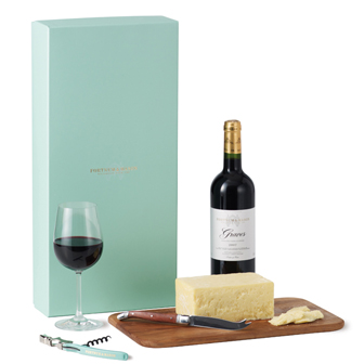 Fortnum and Mason Claret and Cheddar Box
