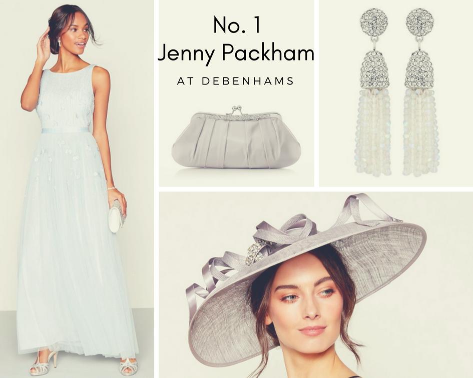 707dce3c31bb20 Jenny Packham Mother of the bride wedding dresses. Guest designer for  Debenhams ...