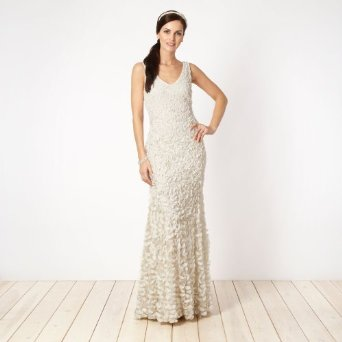 Debenhams Floral Bridal Dress