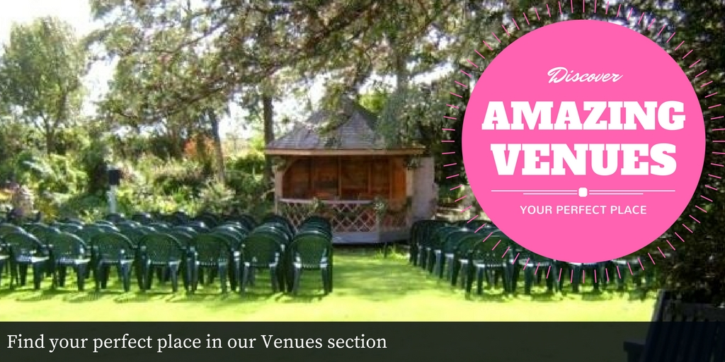 Find your perfect place in our Venues section