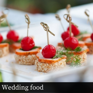 Wedding food