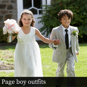 Page boy outfits