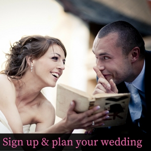 Sign up & plan your wedding