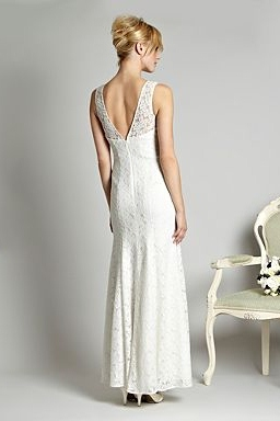 Debenhams Lace Maxi Bridal Dress