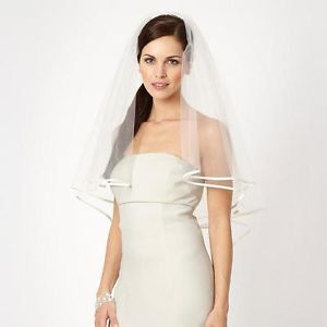 Ribbon Trimmed Veil