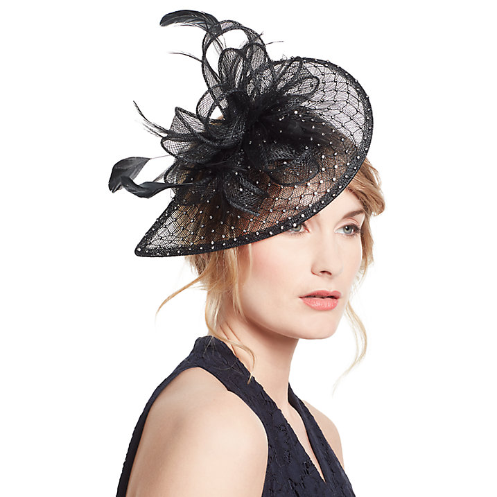 John Lewis Diamante Teardrop Fascinator From The Mother of The Bride Collection