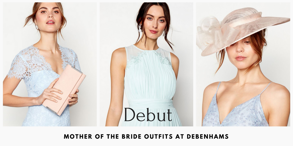 Debut at Debenhams Mother of the Bride Outfits
