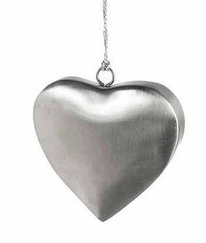 Satin Steel Hnaging Heart Decoration